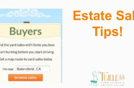 Estate Sale Tips